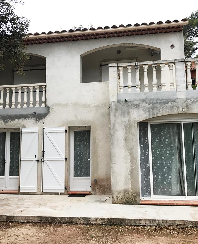 rénovation façade extérieure